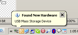 Found USB Mass Storage