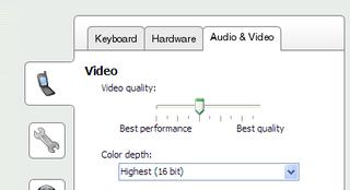 New video controls